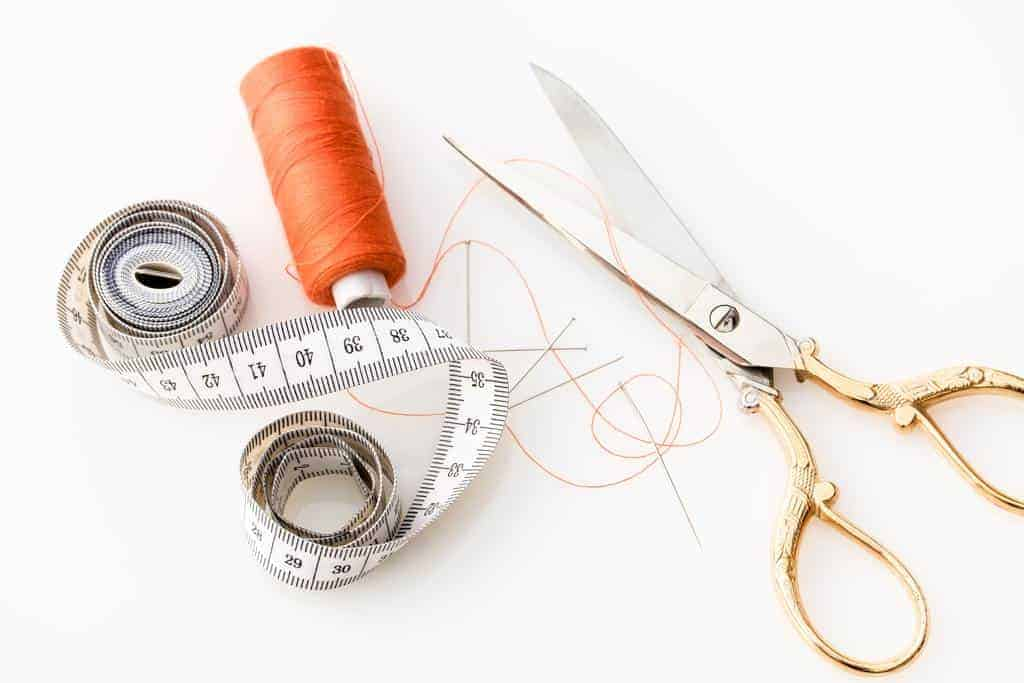sewing tools to sew bra to clothes