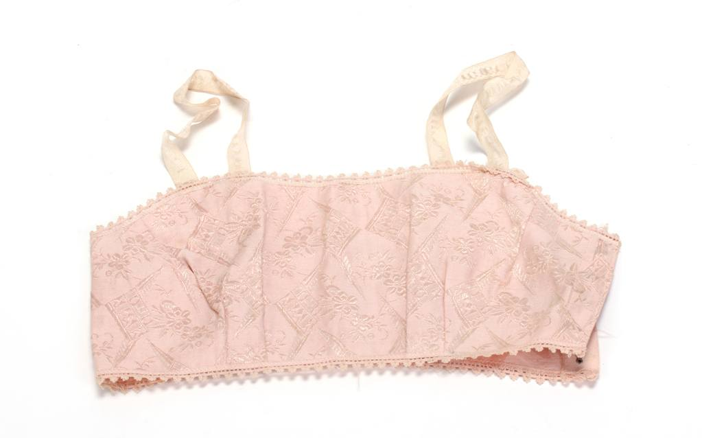 pink brasserie lingerie bra with straps
