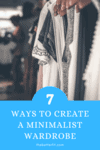 Cover image for 7 ways to create a minimalist wardrobe