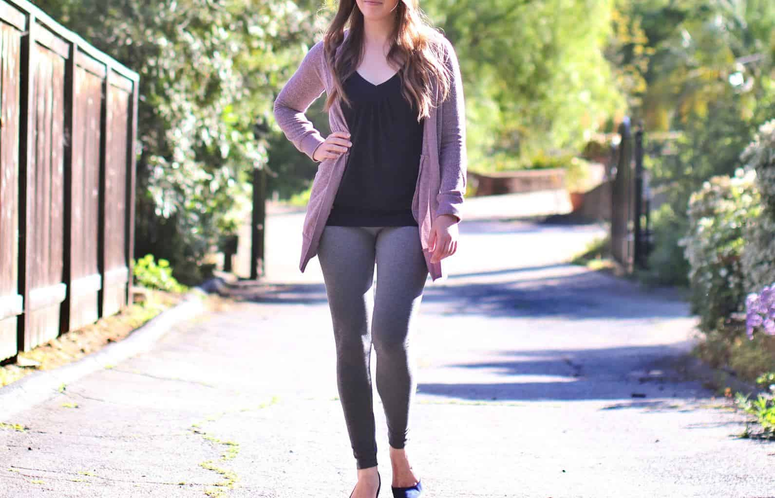 What To Wear With Gray Leggings 31 Outfit Ideas Thebetterfit