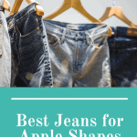 Cover image for the best jeans for apple shapes