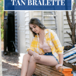 Cover image for how to wear a tan bralette